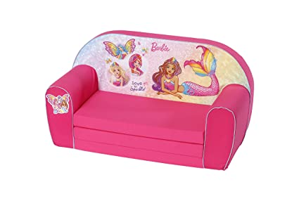 Astonishing Amazon Com Knoortoys Barbie Childrens Sofa Toys Games Bralicious Painted Fabric Chair Ideas Braliciousco
