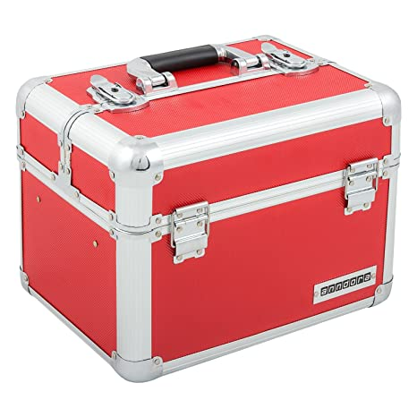 Welp Kosmetikkoffer XL Aluminium-Rahmenkoffer Multikoffer Beauty Case TJ-47