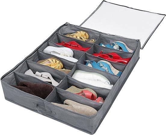 Sous le lit meuble de rangement-Chaussures Literie vêtements sous-lit strage 80 x 45 x 25