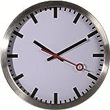 Bahnhofsuhr Metall 35 cm