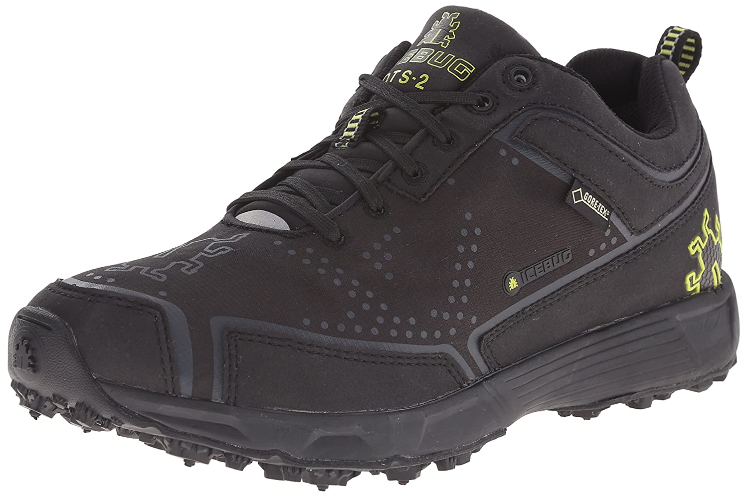 Icebug Men's DTS2 GORE-TEX BUGrip Studded Traction Running Shoe