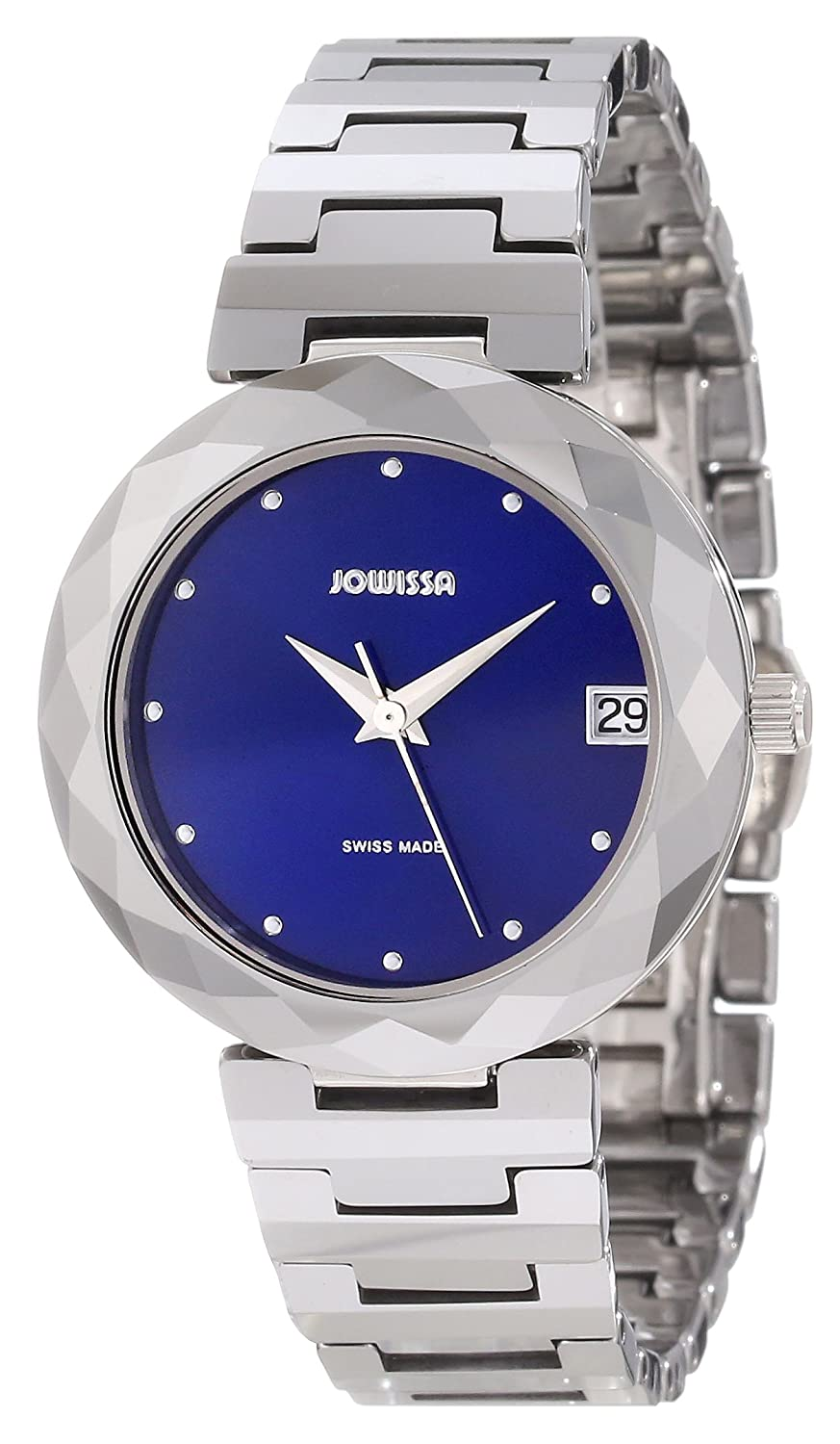 81f175566 Jowissa Soletta Women's Quartz Watch with Blue Dial Analogue Display and  Silver Tungsten Bracelet J1.175.M: Amazon.co.uk: Watches