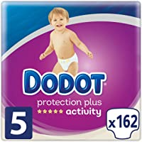 Dodot Protection Plus Activity - Pañales Talla 5 (11-16 kg) - 162 Pañales
