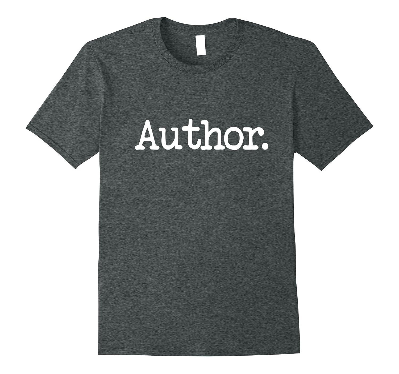 Womens Author Writer T Shirt Simple-Tovacu