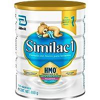 Similac   Etapa 1, Fórmula Infantil para Bebés de 0 a 6 Meses, Contiene DHA, AA y Luteina   850g