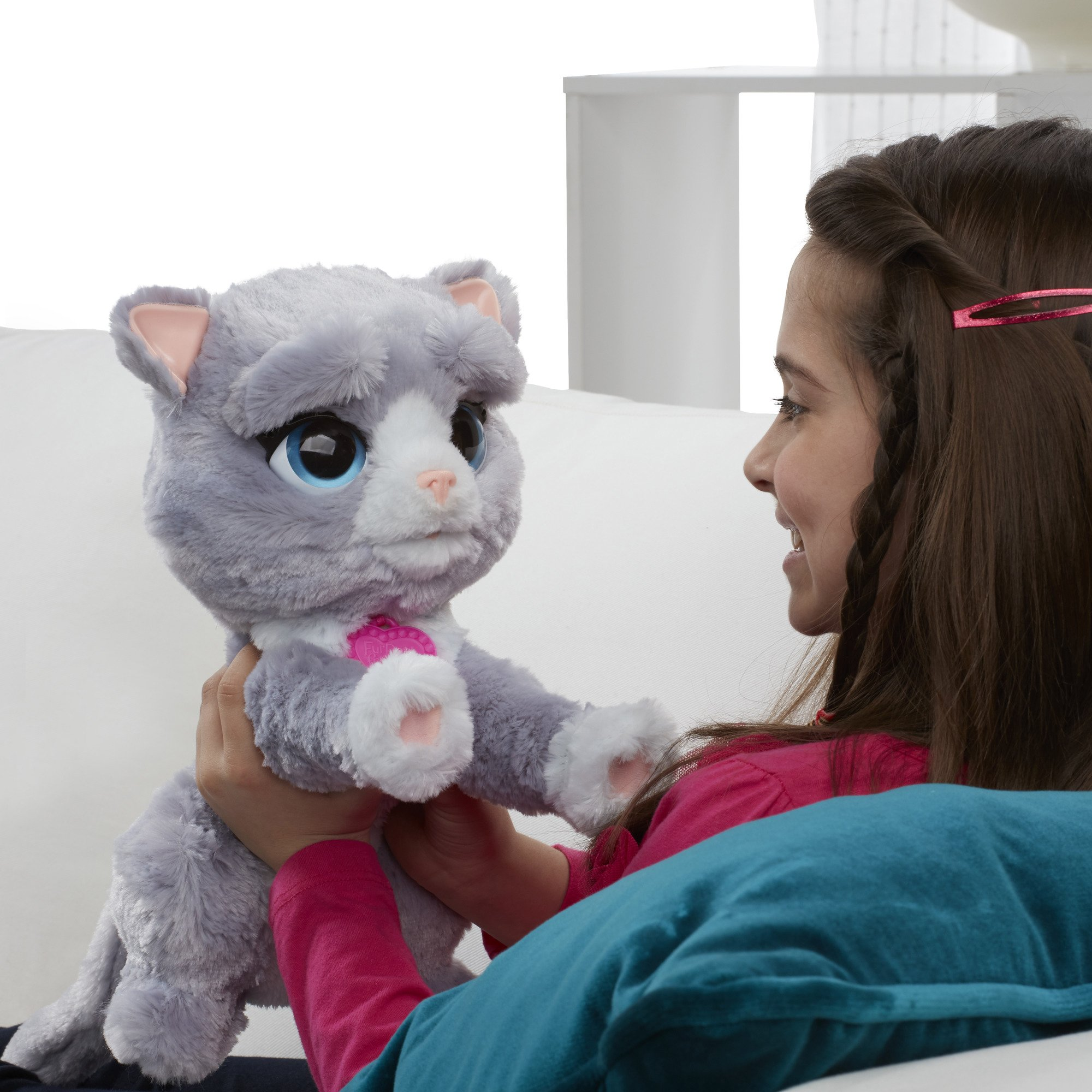 FurReal B5936AF1 Bootsie Interactive Plush Kitty Toy, Ages 4 & Up by FurReal (Image #7)