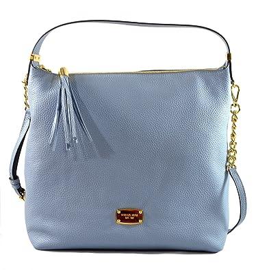 Michael Kors Bedford Large Pebble Leather Shoulder Crossbody Bag ...