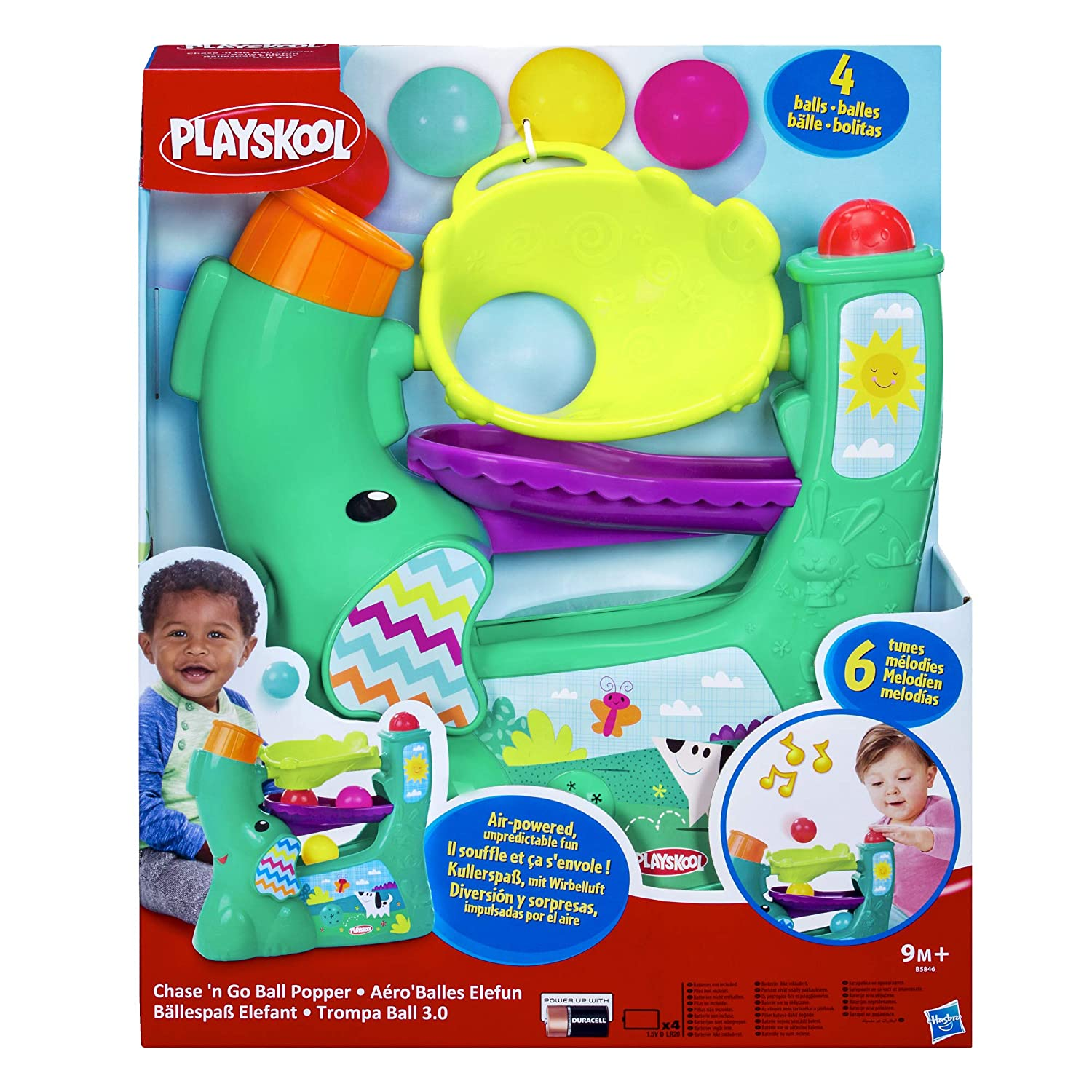 Playskool - Juguete Trompaball 3.0 (Hasbro B5846EU4): Amazon.es ...