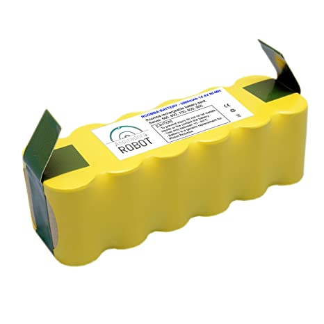 ASP ROBOT Batería 3000mah 14.4V para iRobot Roomba 630 Serie 600. Recambio recargable repuesto