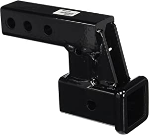 "Meyer FHK45054 Receiver Hitch Extension with 4"" Drop/Rise, Black"