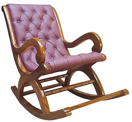 more photos 7064e 13794 Tayyaba Enterprises Pure Sheesham Wooden Rocking Chair