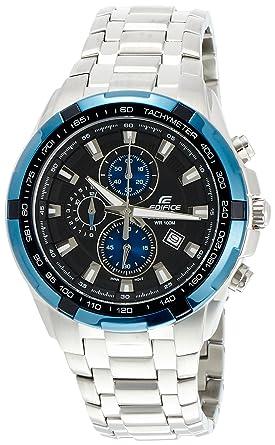 81e2489ede03 Image Unavailable. Image not available for. Colour  Casio Edifice  Chronograph Blue Dial Men s Watch ...
