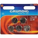 Grundig CR 2450 au lithium 3 V - lot de 5 piles