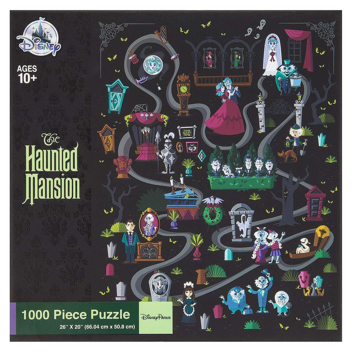 Amazon.com: Disney Parks Haunted Mansion Jigsaw Puzzle ...