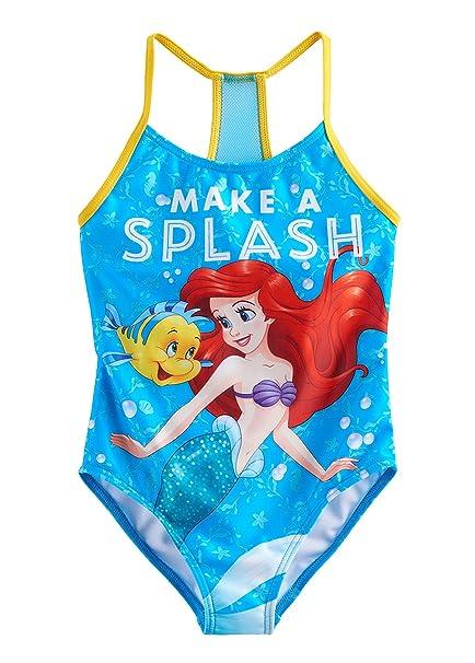 bd7b066a2c Amazon.com  The Little Mermaid Ariel Girls Swimwear Swimsuit (Toddler Little  Kid)  Clothing