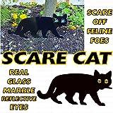Unibos Pack of 3 Metal Cat (Bird, Animal,Fox, Pest) Scarers, Repeller, Rodent, Deterrent Garden