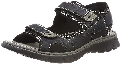 Rieker Sandaletten blau | elbandi