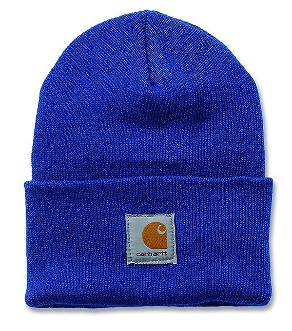 Carhartt A18 Acrilico Guarda Hat Beanie Cappello blue -azzurro ... be2236c03371