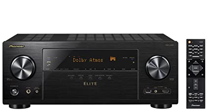 Pioneer VSXLX301 7 2 Channel Networked AV Receiver with Built-In Bluetooth  & Wi-Fi (Black)