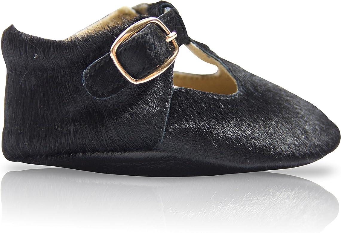 Amazon.com: Le Petit Chouchou Mary Jane zapatos de bebé ...