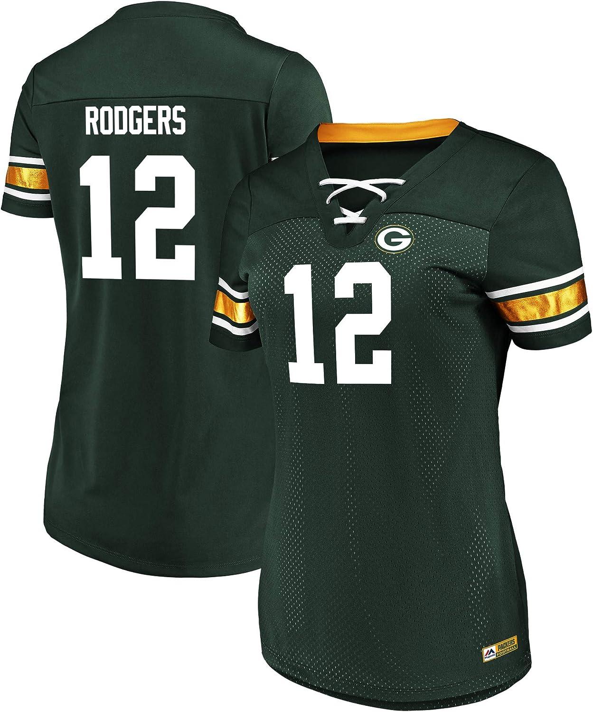Fanatics NFL T-Shirt Green Bay Packers #12 Aaron Rodgers