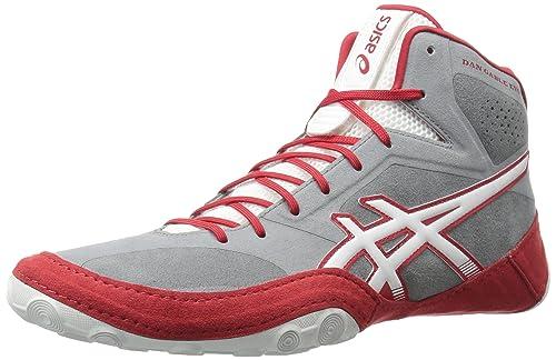 competitive price e1d0a de65d Asics Unisex-Adult Dan Gable EVO Shoes, 5 UK, Aluminum White