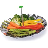 """Prep Solutions by Progressive PS-2090 Prep Solutions Steamer Basket, 9"""", Stainless Steel"""