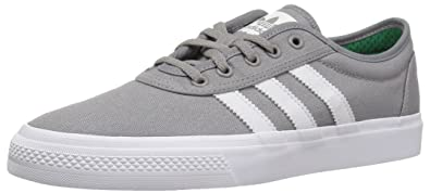 size 40 a1396 27534 adidas Originals adi-Ease Skate Shoe, Solid Grey Crystal White, 4 M