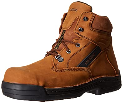 6998743e26c8 Wolverine DuraShocks Steel-Toe EH 6 quot  Work Boot Men 7 Brown