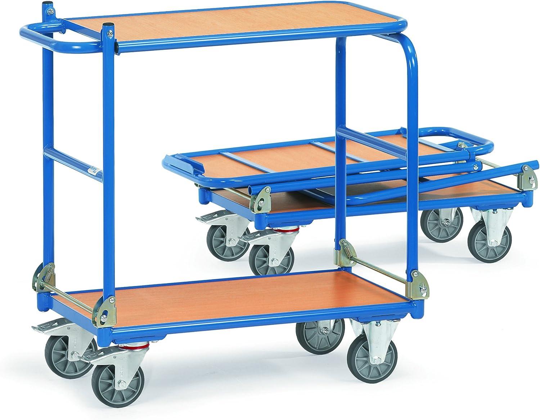 1.030 x 620 x 1.010 mm Tischwagen Optiliner Klappwagen 400 kg Fetra