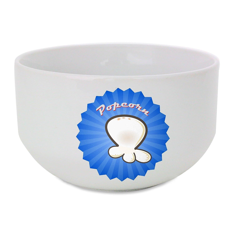 Un icono para palomitas bol de cerámica: Amazon.es: Hogar