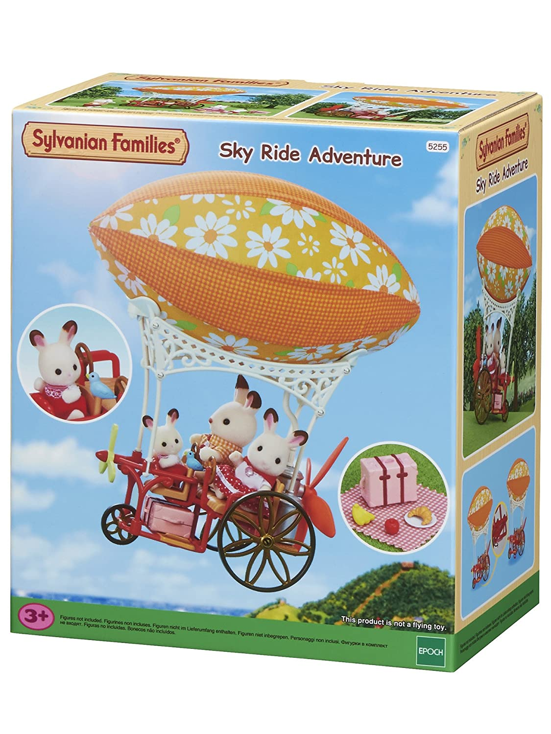Sylvanian Families Sky Ride Adventure Set Epoch 5255
