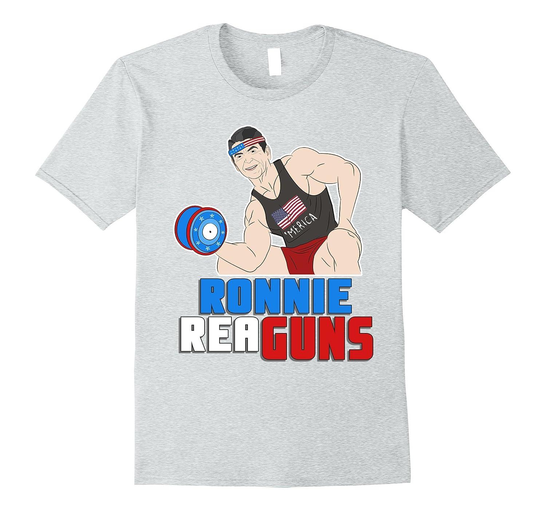 e5a10236 Ronnie Reaguns Shirt Funny Ronald Reagan T Shirt-PL – Polozatee