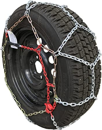 235//45-19 235//45R19 Tire Chains Diamond Back Link Traction Passenger Vehicle