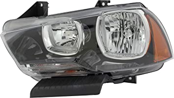 For 2011-2014 Dodge Charger Headlight Assembly Left TYC 79529YR 2012 2013