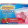 Emergen-C Immune+ 1000mg Vitamin C Powder, with Vitamin D, Zinc, Antioxidants and Electrolytes for Immunity, Immune Support D