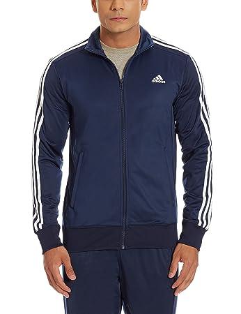 0e18a470e3a4a adidas Herren Trainingsjacke Essentials 3-Stripes: Amazon.de: Sport ...