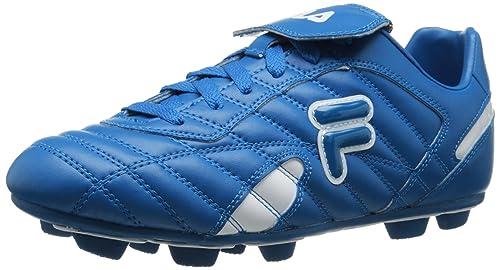 Fila Forza III RB - Zapatillas de fútbol para Hombre, Azul (Azul/Blanco