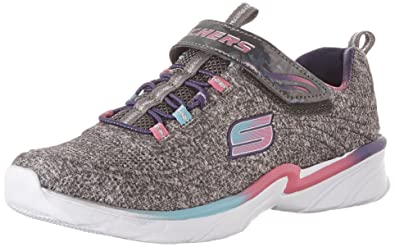 girls black skechers