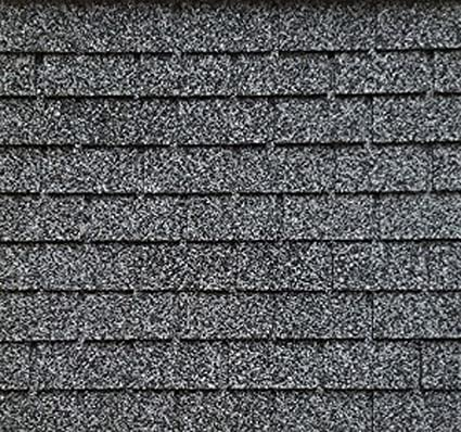 Dollhouse Miniature Roofing Salt & Pepper Square Asphalt Shingles