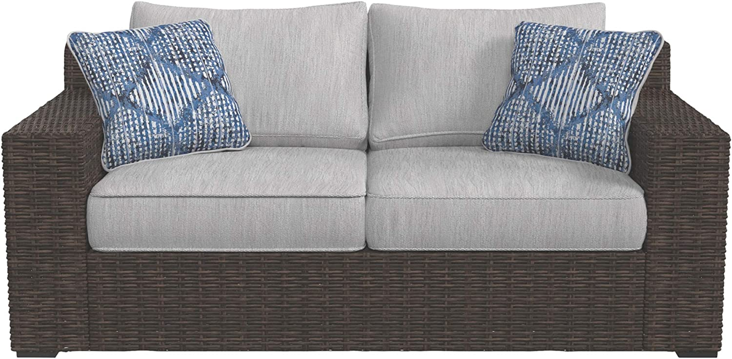 2/&1 Black Sofa Seat Cushion Covers Slipcover Replacement Only Cover