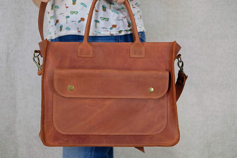 Leather messenger, messenger bag women, women shoulder bag, leather briefcase women Laptop Crossbody Bag Leather handbag Brown messenger