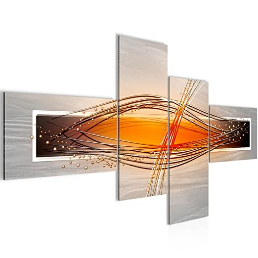 Bilder Abstrakt Wandbild 160 x 80 cm Vlies - Leinwand Bild XXL ...