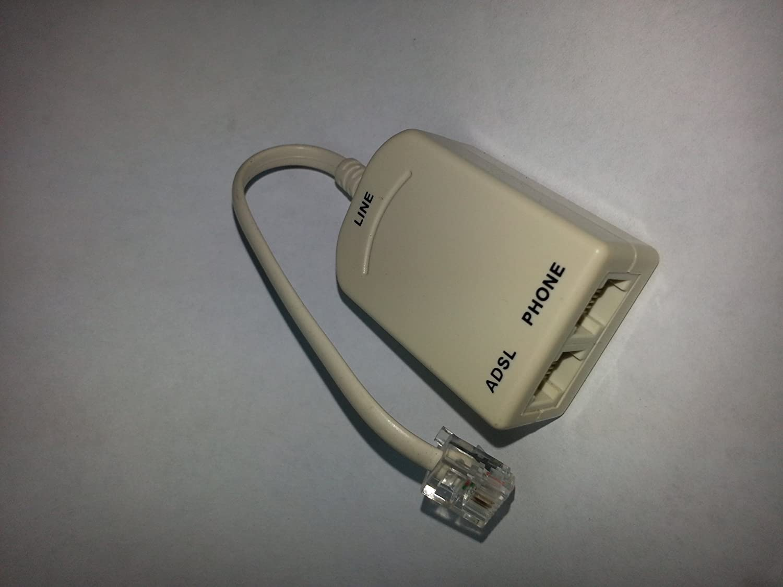 Tgomtech In-line DSL Filter with Splitter