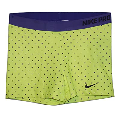 """NIKE Pro Womens 3"""" Printed Compression Shorts"""