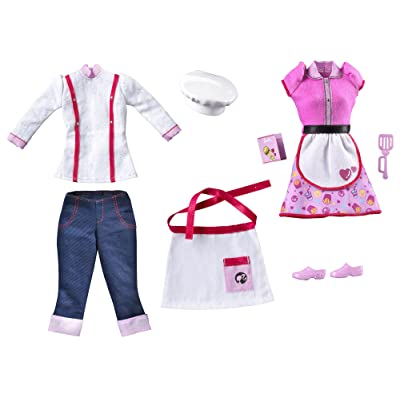 Barbie I Can Be Restaurant Fashion Pack: Toys & Games