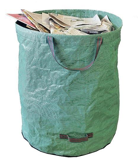 TerCasa Bolsas de Basura de jardín 272 L, Verde, 272 L ...