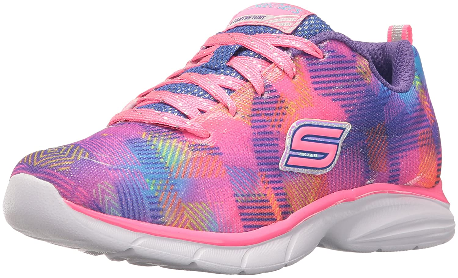 Skechers Kids Girls' Spirit Sprintz-Color Wave Sneaker 81336L