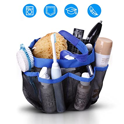 Amazon.com: Mesh Shower Caddy Portable Tote – College Dorm Room ...