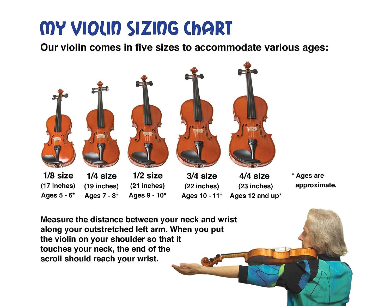 Amazon com emedia my violin starter pack 1 4 size 5 sizes